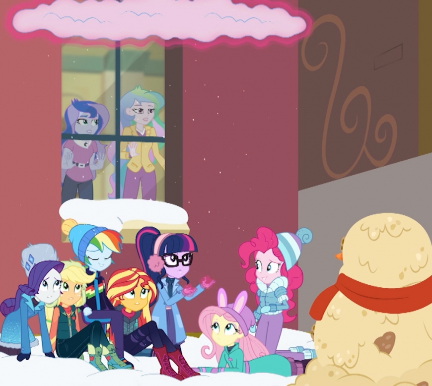 Watch Equestria Girls Holiday Unwrapped winter special online