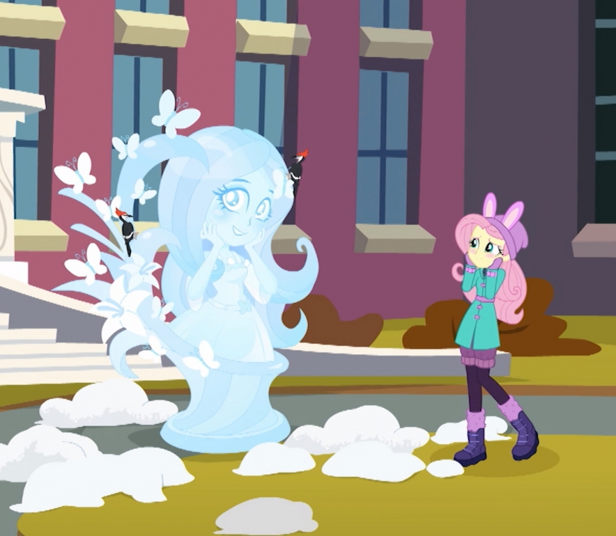 Equestria Girls Holiday Unwrapped Fluttershy winter outfit