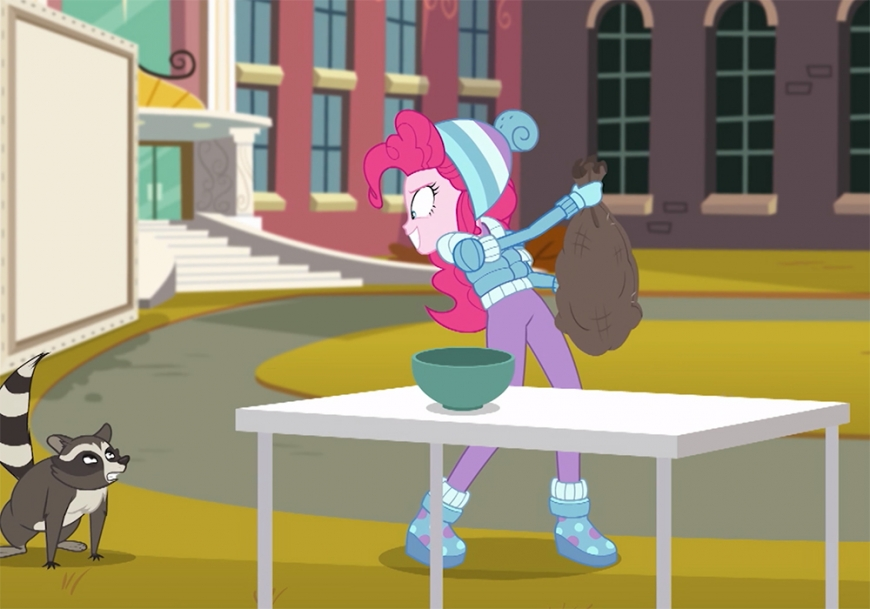 Equestria Girls Holiday Unwrapped Pinkie Pie winter outfit