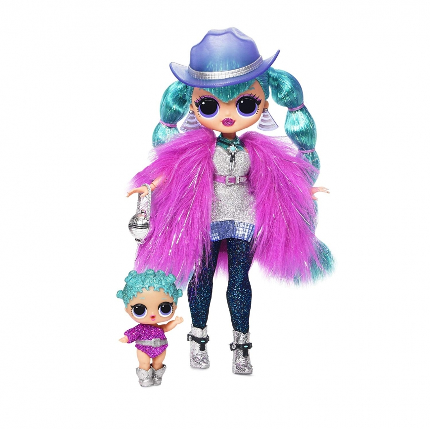 LOL Surprise OMG Winter Disco 24K D.J. fashion doll