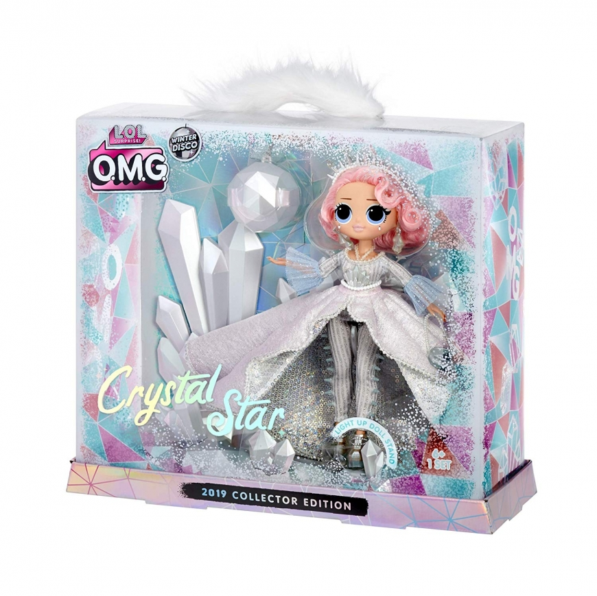 LOL Surprise! OMG Crystal Star 2019 Collector Edition Fashion Doll photo