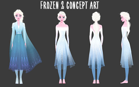 Frozen 2 beautiful concept art images
