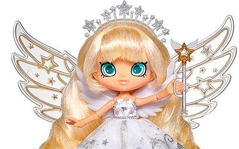 Shopkins Shoppie Doll Angelique Star Special Edition with angel wing stand