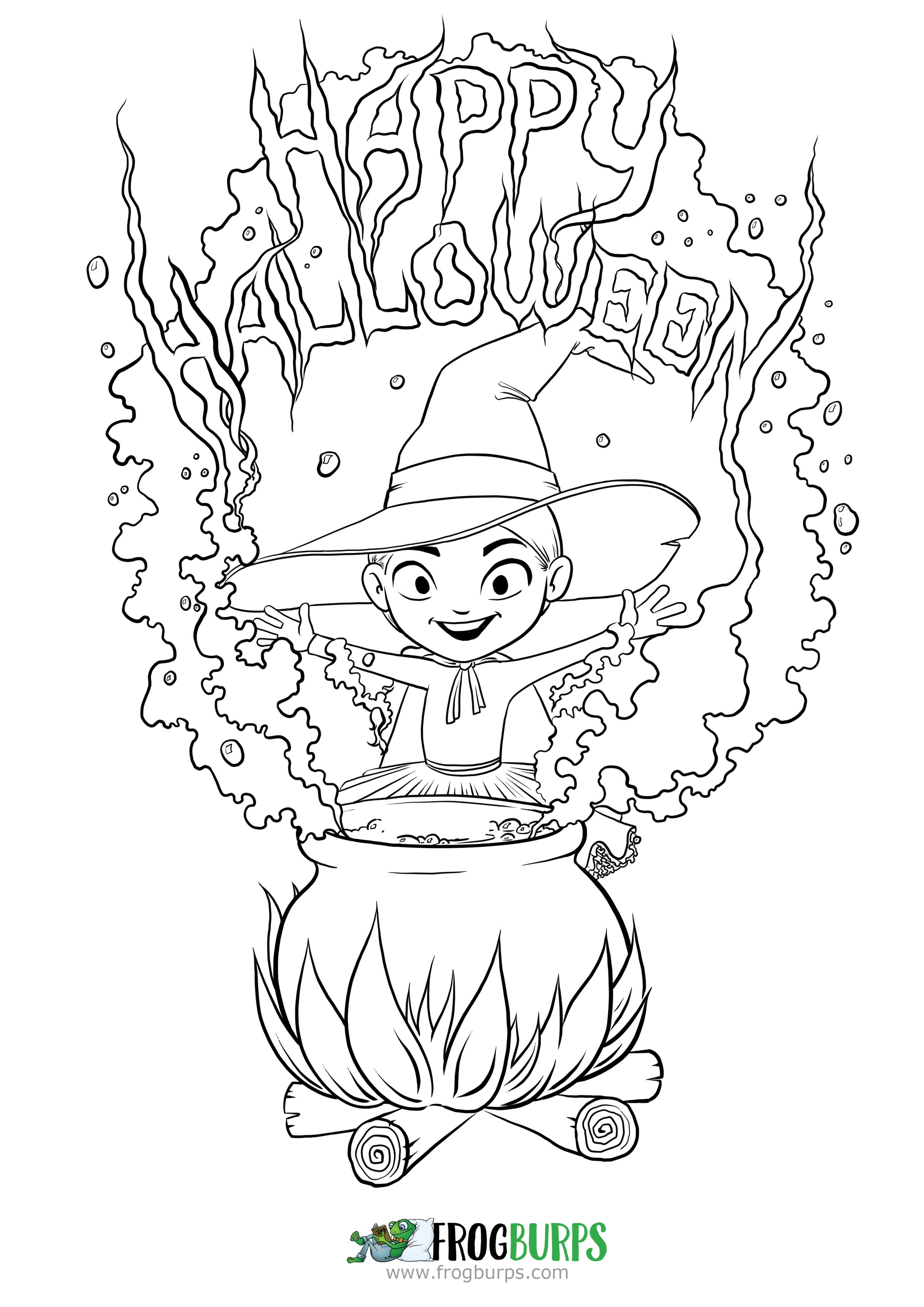Cute Halloween Coloring Pages Youloveit Com