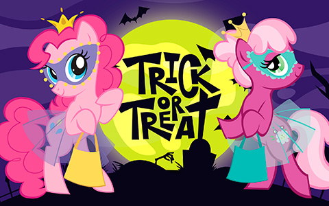 My Little Pony HD Halloween wallpaper collection - you can use them as Halloween cards