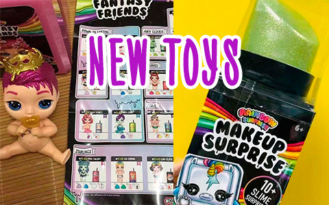 New Poopsie Rainbow Surprise Toys: Fantasy Friends, Slime Smash dunkn deuce, Makeup Surprise and Rainbow Crush