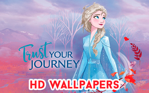 New Frozen 2 HD wallpapers with official clipart