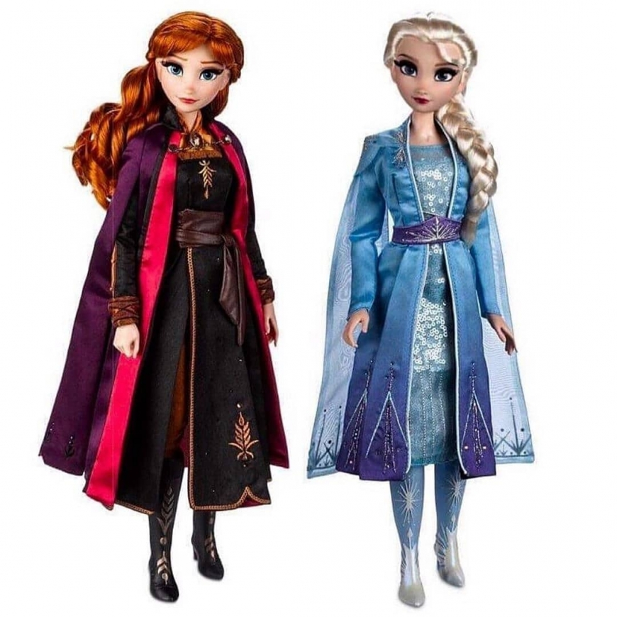 Disney Frozen 2 Limited Ediotion dolls