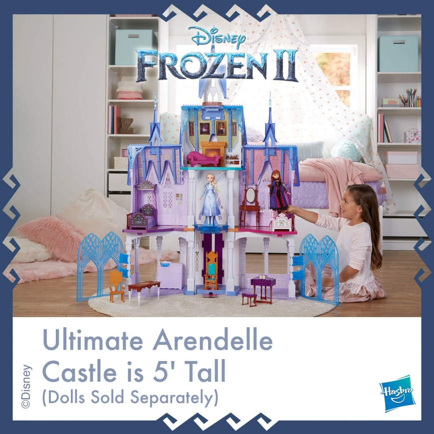 The ultimate Arendelle castle Playset