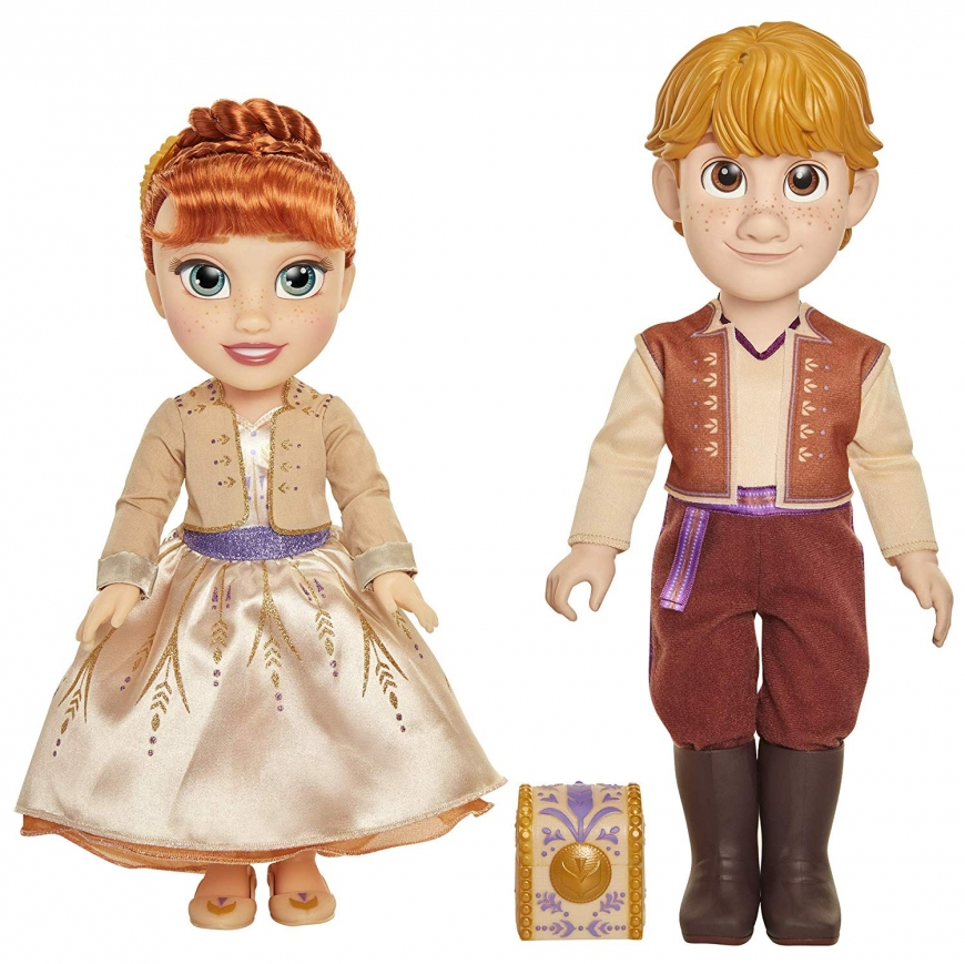 Jakks Pacific Disney Frozen 2 Anna & Kristoff Dolls Proposal Gift Set dolls