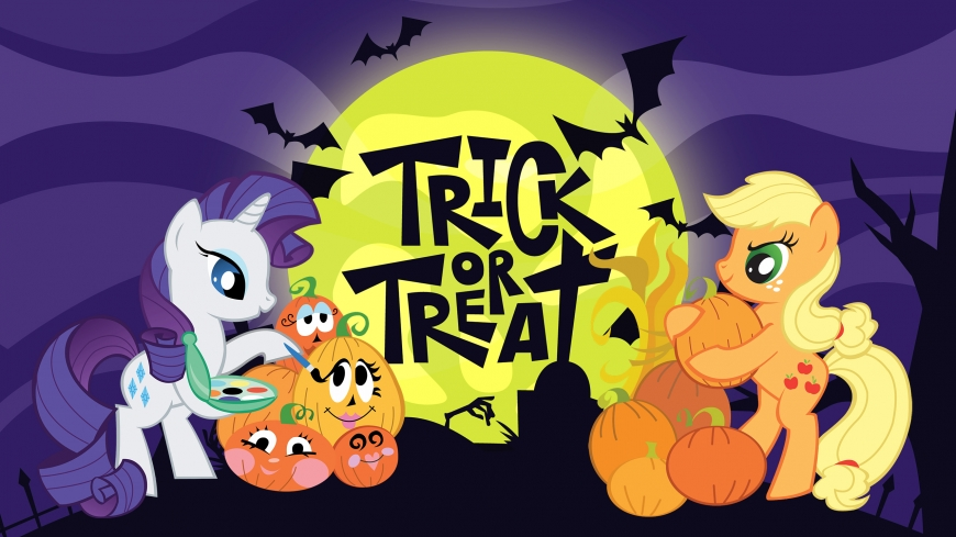 Halloween wallpaper my little pony new
