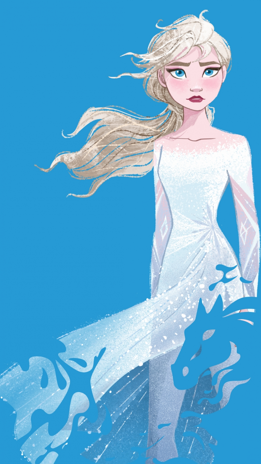 Big Frozen 2 Phone Wallpapers With Elsa Youloveit Com