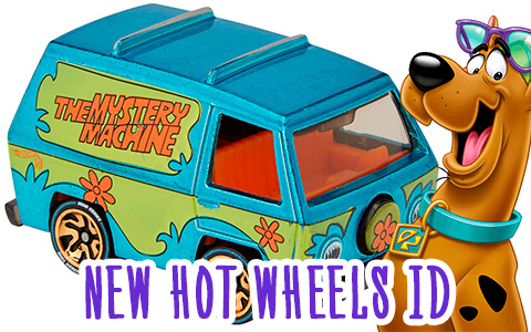 Hot Wheels released id Scooby-Doo Mystery Machine