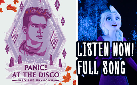 Panic! At The Disco - Into the Unknown full Elsa's song from Frozen 2. It's is not a second Let it go, it is better!
