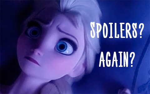 Frozen 2 Sneak Peek with Anna comforting Elsa and Elsa singing Into the Unknown