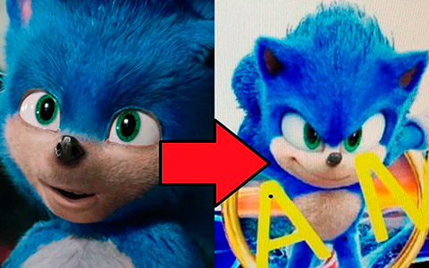 First look at Sonic redesign from Sonic the Hedgehog 2020. Now that's a SONIC!