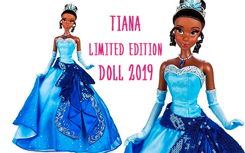 First images of Tiana and Dr. Facilier limited edition dolls for for 10th Anniversary of the movie