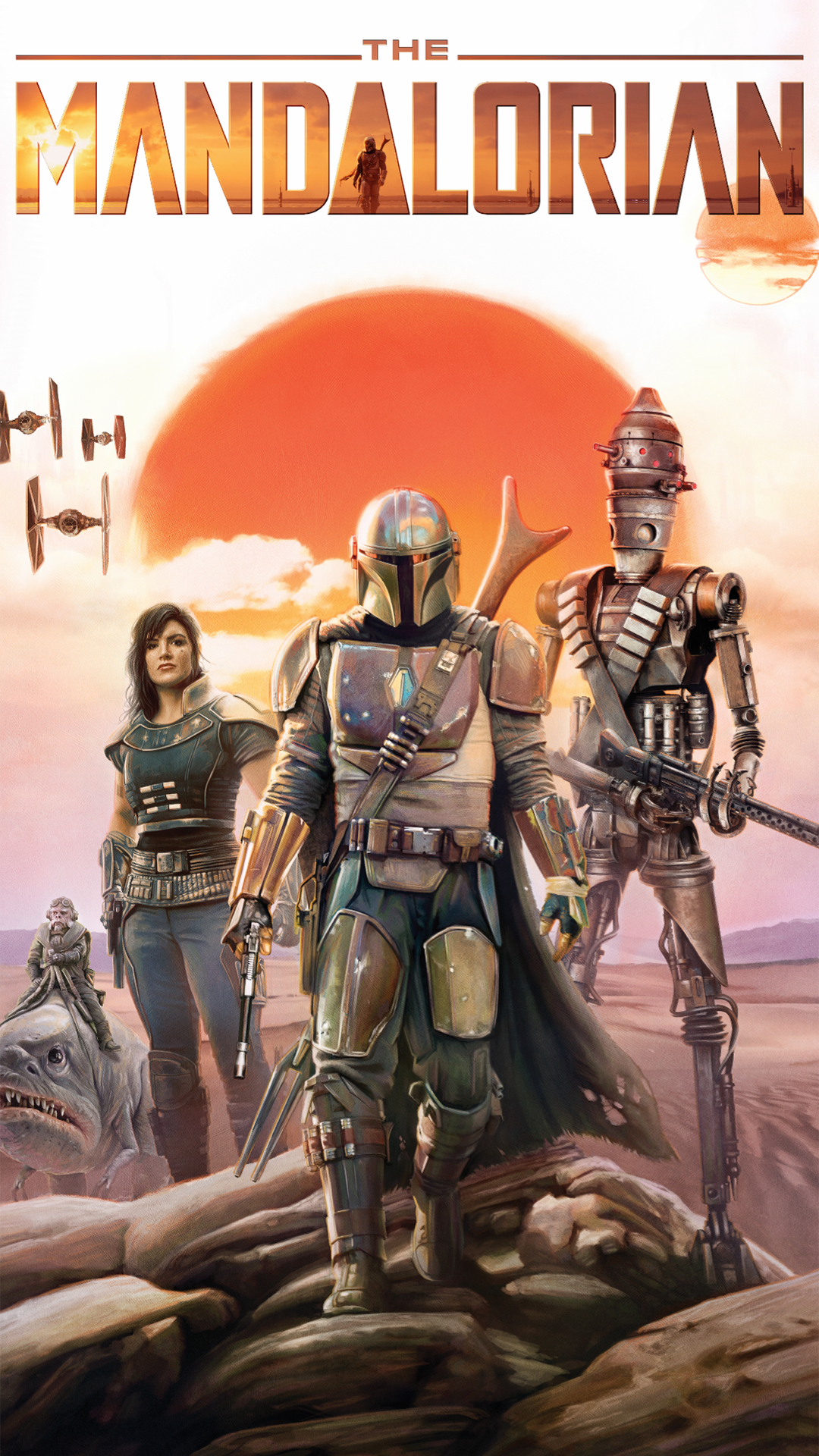 The Mandalorian Hd Phone Wallpapers 1080p Youloveit Com