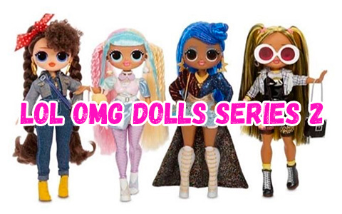 First images of 4 new core LOL OMG dolls from series 2 : Candylicious, Alt Grrrl, Busy B.B. and Miss Independent