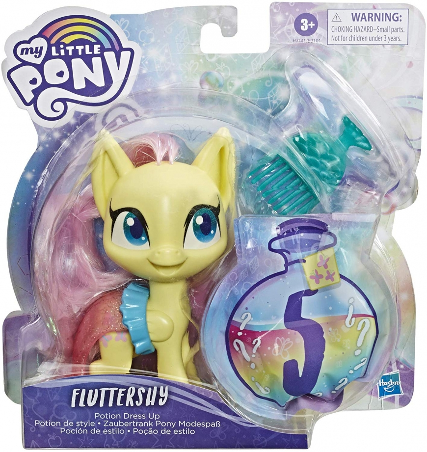 My Little Pony Fluttershy Potion Dress up mermaid style 2020