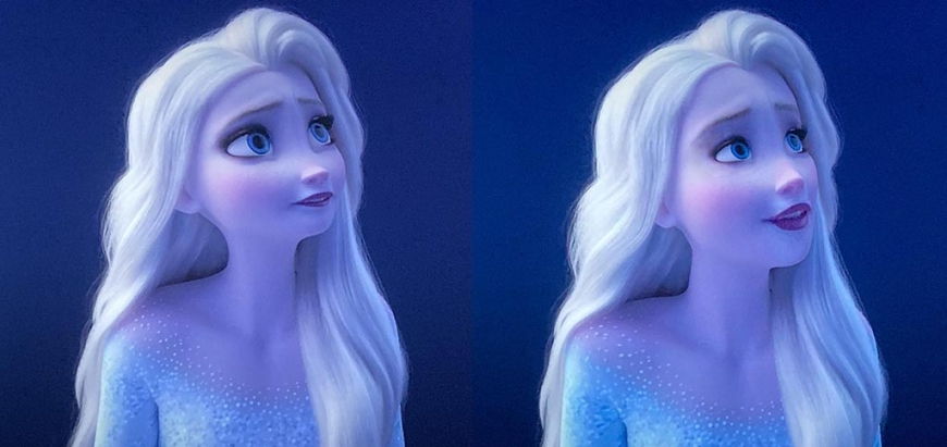 Frozen 2 Elsa and Anna realistic faces
