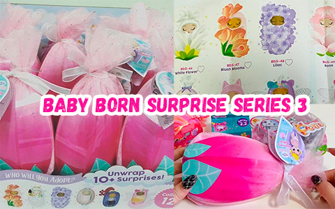 New Baby Born Surprise series 3 toys - Blooming Babies