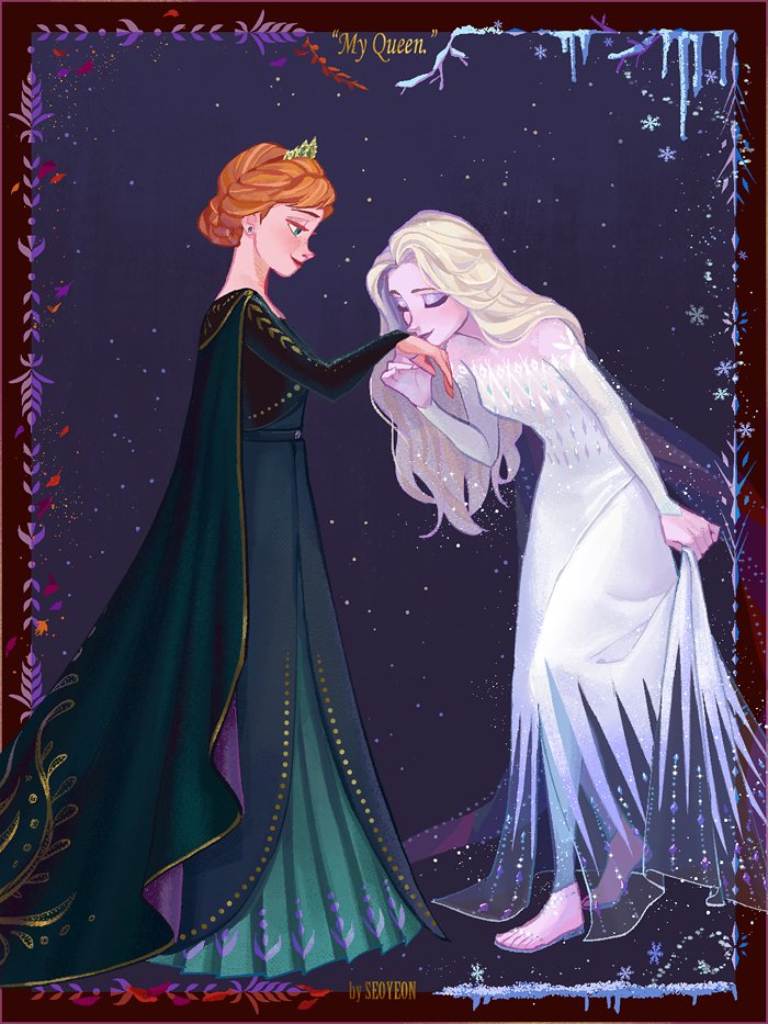 Anna and Elsa new roles from Frozen 2