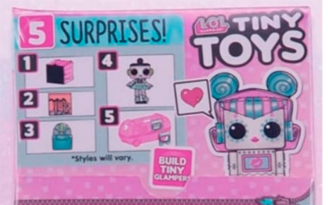 LOL Surprise Tiny Toys - they are so tiny that can used as toys for your LOL dolls