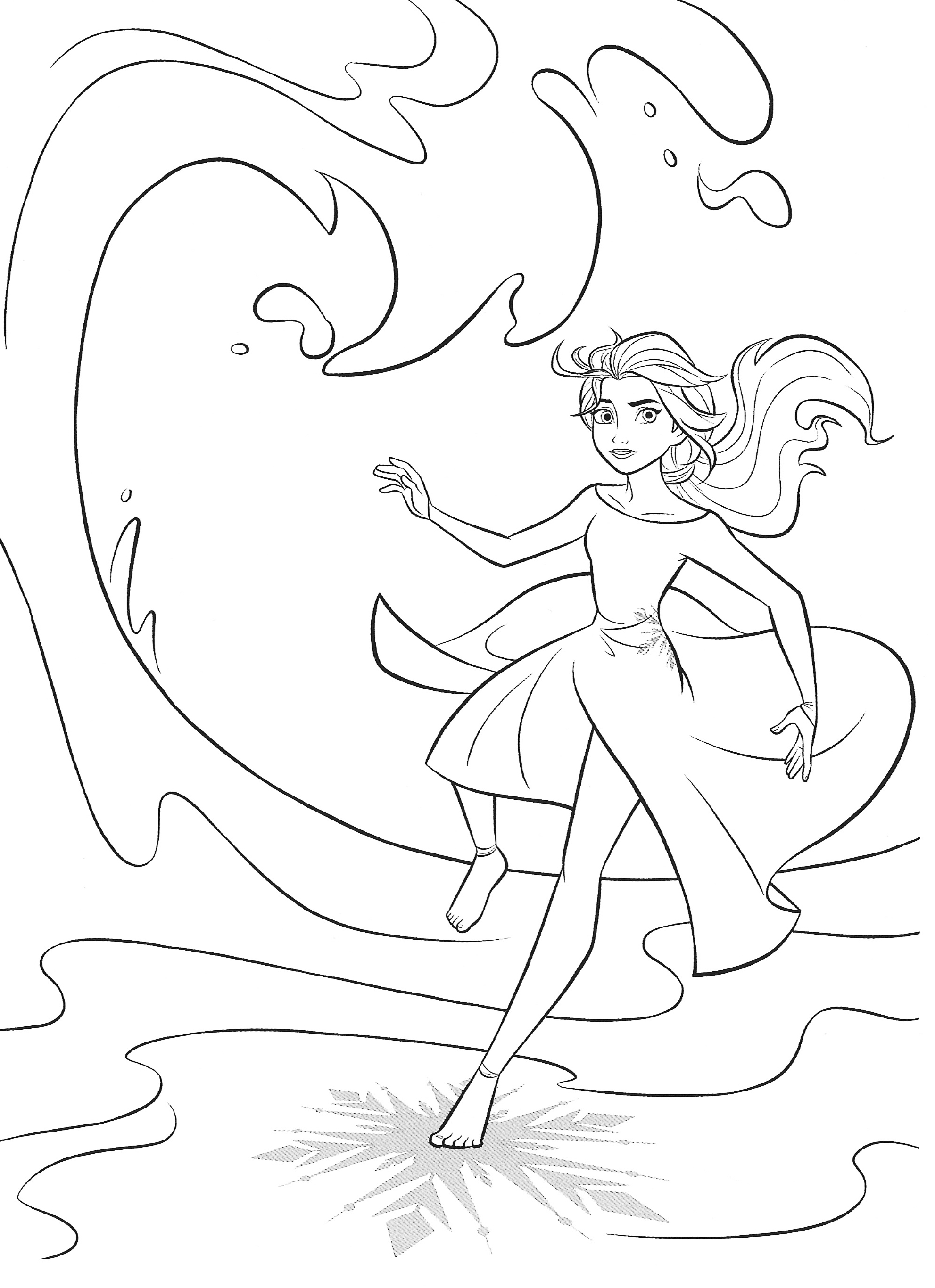 New Frozen 2 Coloring Pages With Elsa Youloveit Com