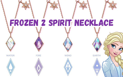CLUE Frozen 2 - incredibly beautiful Spirit Necklace jewerly collection from popular Korean brand