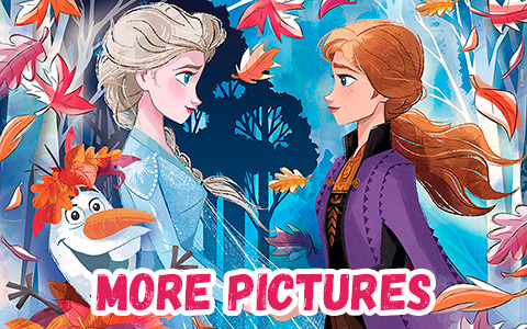 Another pack of new official Frozen 2 pictures with Elsa and Anna