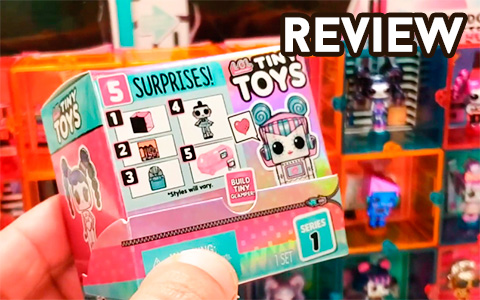 LOL Surprise Tiny Toys review - new surprise toys collection
