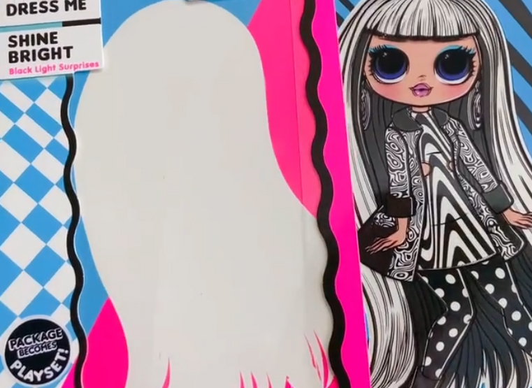 LOL OMG Lights new fasion dolls line for 2020. First images of LOL OMG Groovy Babe and Speedster. Plus art of OMG Lights Dazzle and Angles