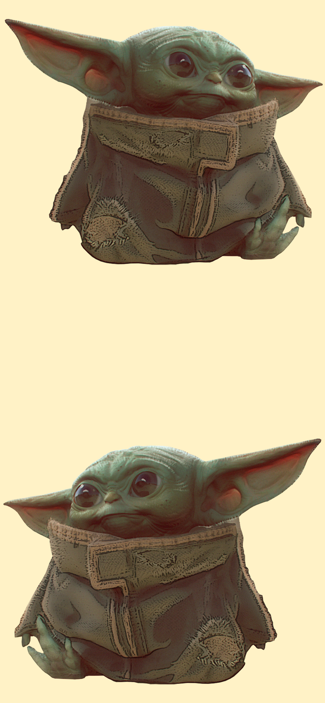 Baby Yoda iphone X wallpaper collection , YouLoveIt.com