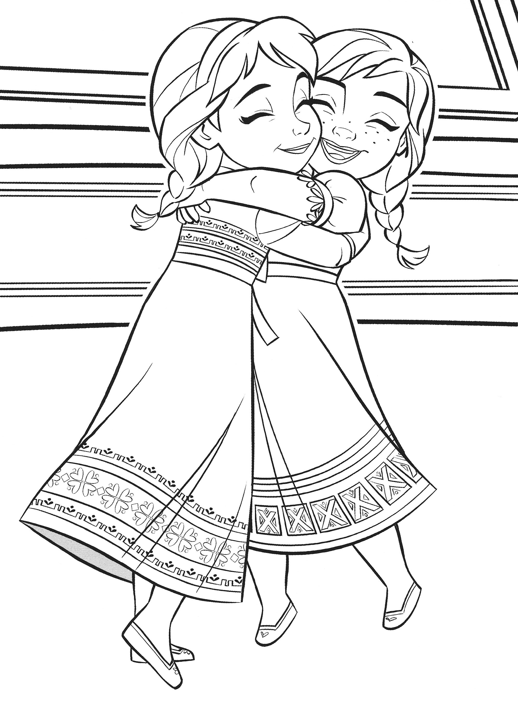 - Frozen 2 Elsa And Anna Coloring Pages - YouLoveIt.com