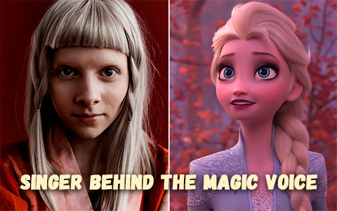 AURORA - met the artist behind the magic voice calling Elsa in Frozen 2