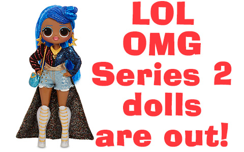 LOL OMG series 2 fashion dolls are finaly released for the prise $26.99. You can get LOL OMG Candylicious, Miss Independent, Busy B.B. and Alt Grrrl now!