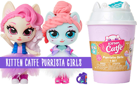 New super cute collectible toys - Kitten Catfe Purrista Girls dolls from Jakks Pacific