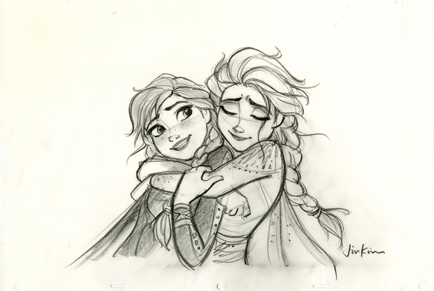 Frozen 2 art