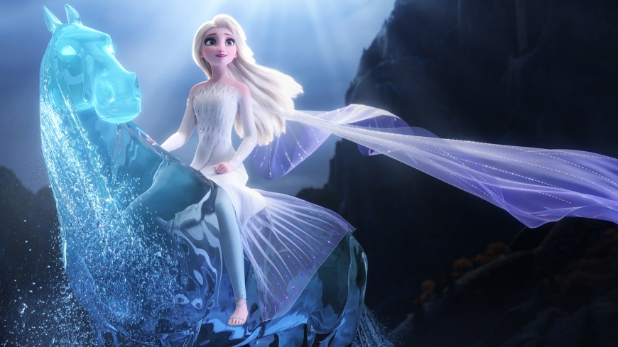 Frozen 2 HD wallpaper Elsa fifthe Element and Nokk