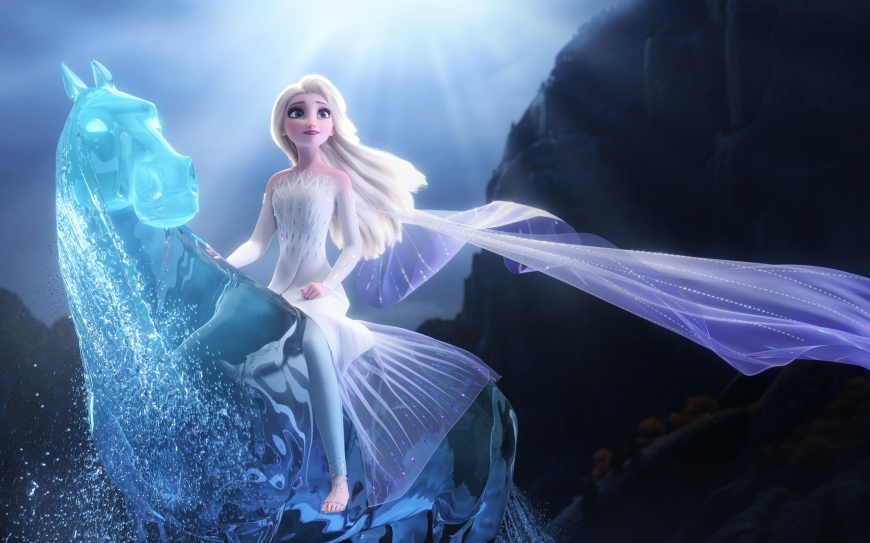 Frozen 2 Elsa fifth element snow queen hd image