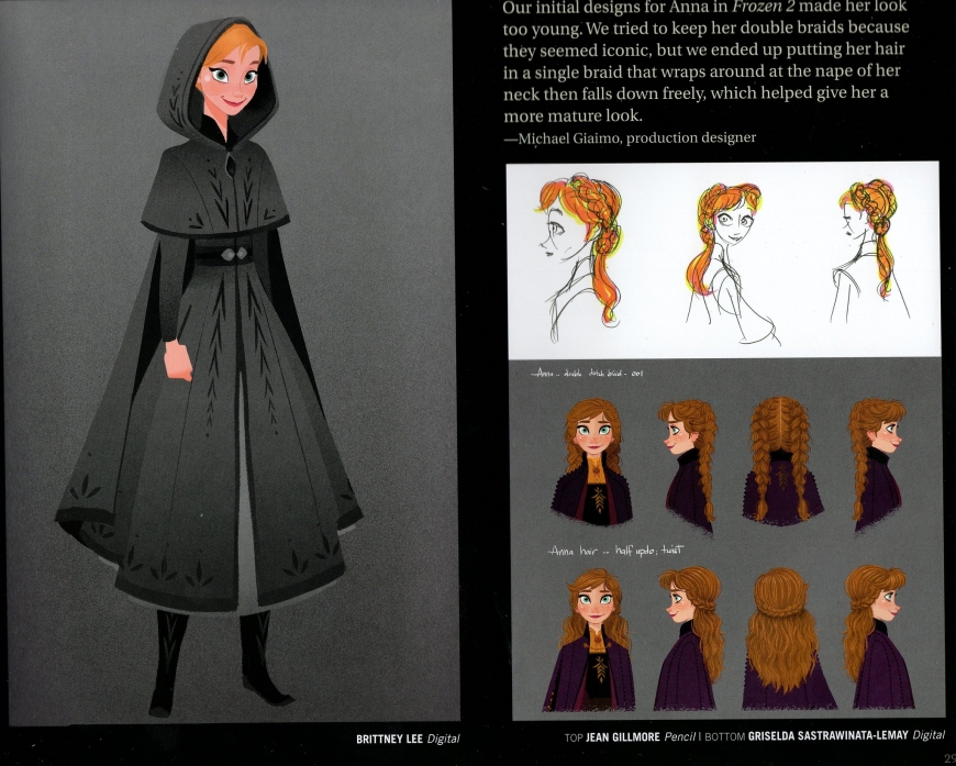 Anna's adventure outfit from the Frozen 2 movie