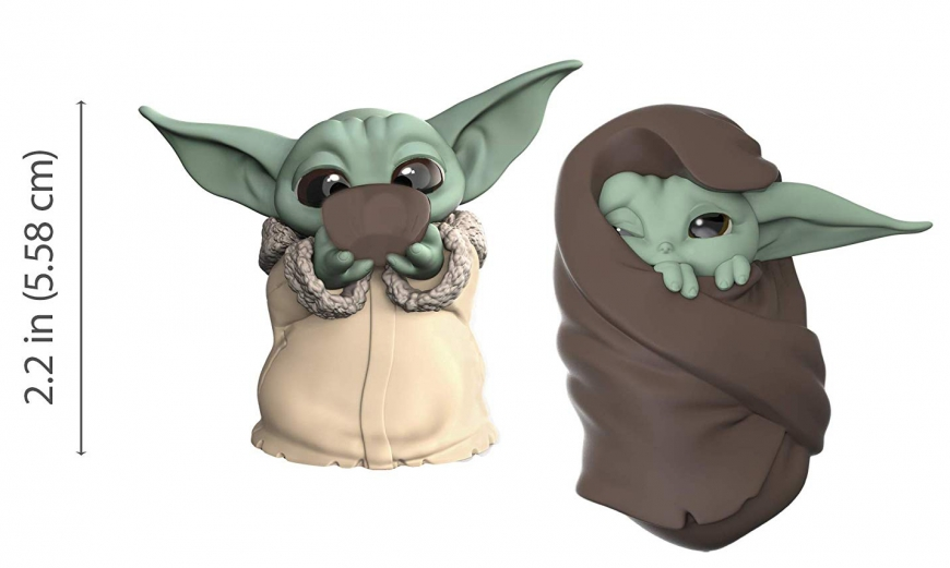 Baby Yoda toy hasbro cute bounty collection figure with soup