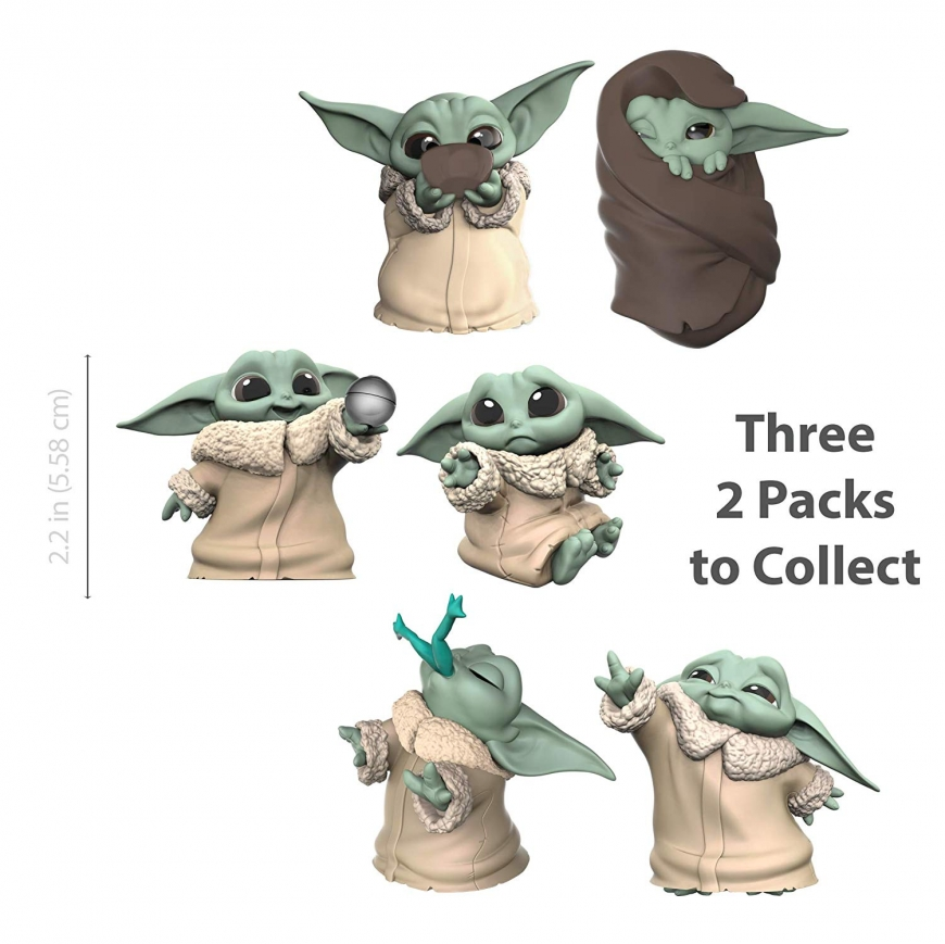 Super cute Hasbro Baby Yoda The Child The Bounty Collection toys 2-pack are out for preorder