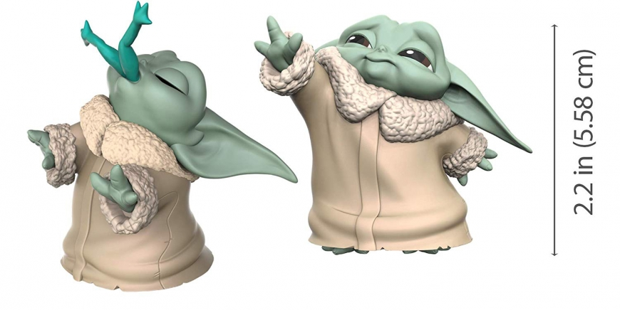 Baby Yoda toy hasbro cute bounty collection figure