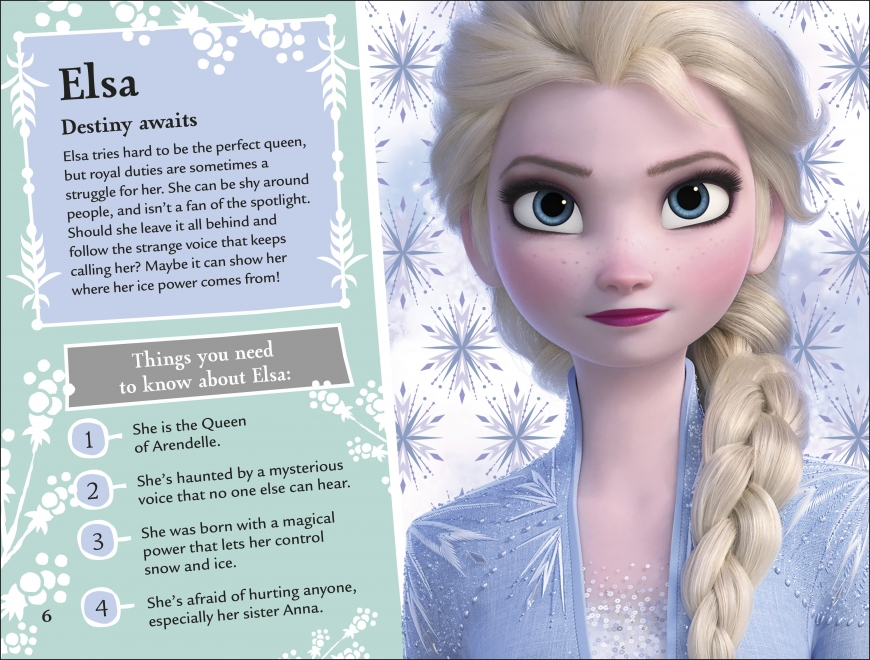 Frozen 2 The Magical Guide book