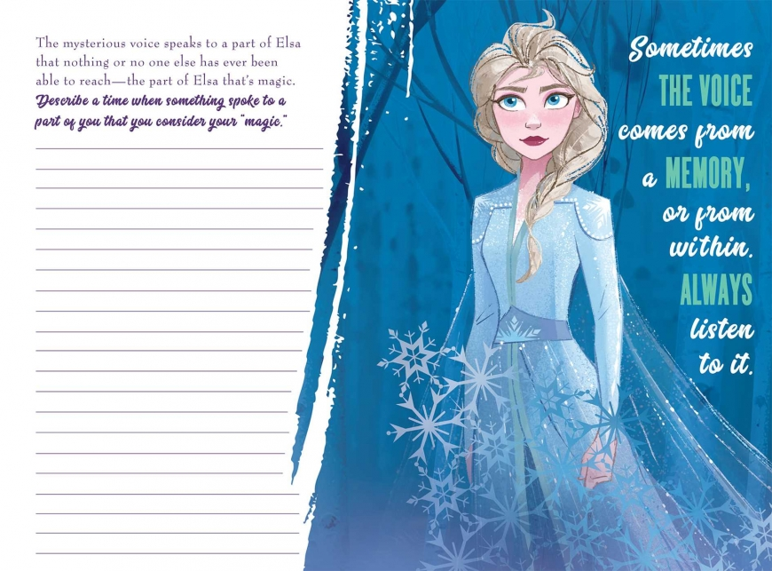 Frozen 2 NEW images from books