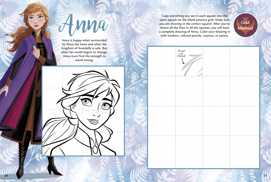 how to draw frozen 2