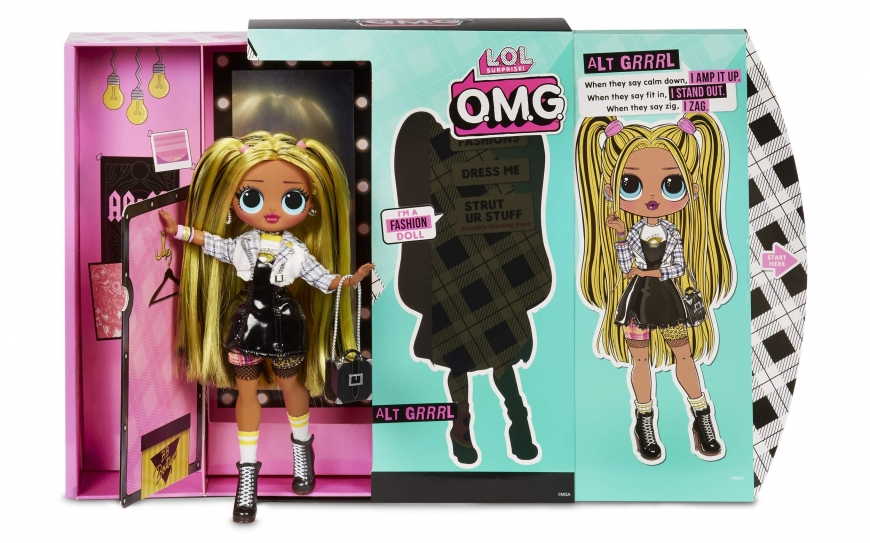 LOL OMG Series 2 Alt Grrrl fashion doll