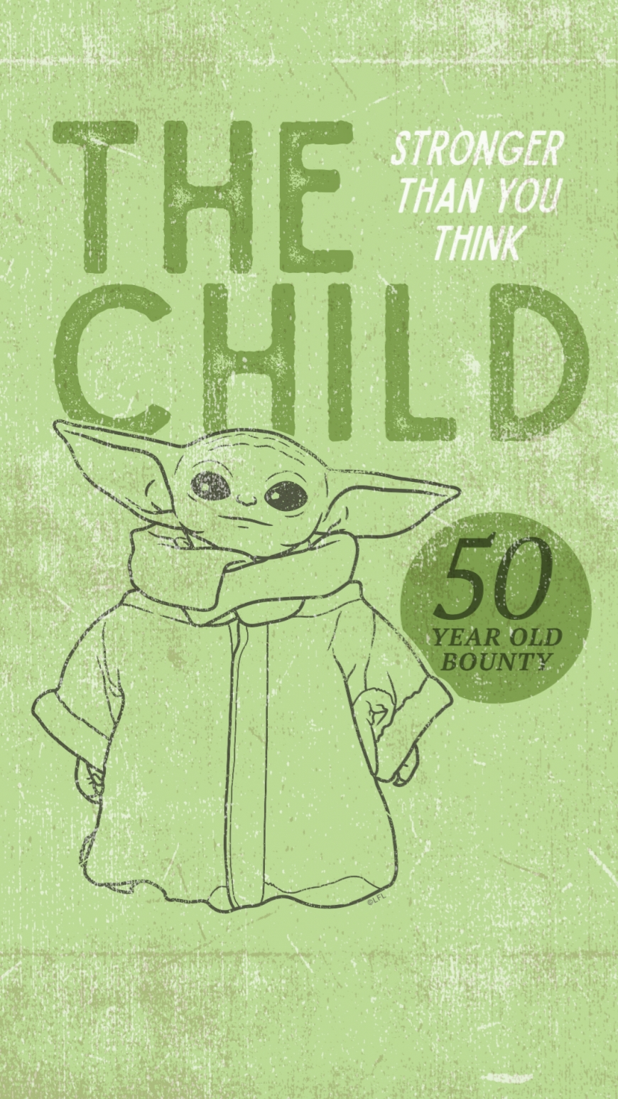 The Child Baby Yoda wallpaper